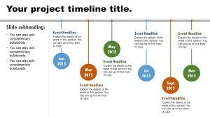 Timeline Powerpoint Slide Basic Timeline Animated Powerpoint Slide Youtube