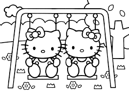 Small Picture Hello Kitty Coloring Pages Es Coloring Pages