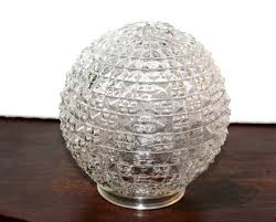 antique glass globe replacement diamond point hobnail ceiling lamp shade fixture globe