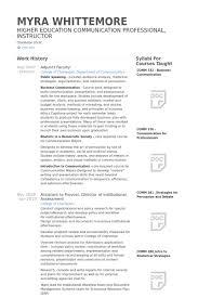 Resume Sample College Professor Resume Ixiplay Free Resume Samples