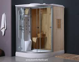 terrific steam shower whirlpool bath combo 116 steam shower enclosure with bathroom decor
