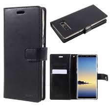 mercury goospery mansoor wallet diary leather case for samsung galaxy note 8 n950 black