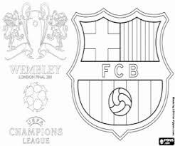 Kleurplaat Fc Barcelona Champions 2011 Kleurplaten
