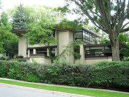 Exquisite Frank Lloyd WrightStyle House Plan  63112HD Frank Lloyd Wright Style House