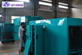 Low Noise Standby 275 kVA Diesel Generator With SDEC Engine For