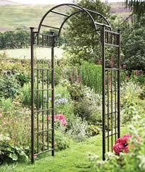 Small Picture Garden arch trellisthe gateway to our backyard retreat