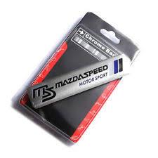mazdaspeed emblem. 1x 3d aluminum rs mazdaspeed logo emblem decal badge sticker fit for mazda mazdaspeed m