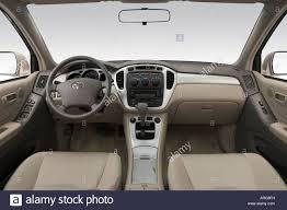 2007 Toyota Highlander Hybrid in Gold - Dashboard, center console ...