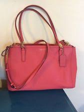 Coach 29422 MADISON Christie Carryall Satchel in Saffiano Leather MSRP   398~~EUC
