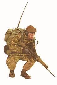 Soldado Del 1er Batallon De Guardias Galeses San Carlos