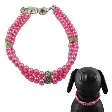Designer Pet Jewelry Alfie Couture Designer Pet Jewelry Nea Double Layer Pearl