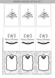 6 Best Images of Free Printable Christmas Gift Tags Black And ...