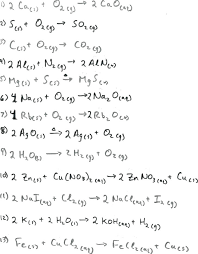 balancing equations worksheet physical science page basic chemical answers chemistry answer