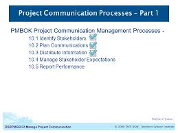 manage project communication project communication processes  project communication processes part 1