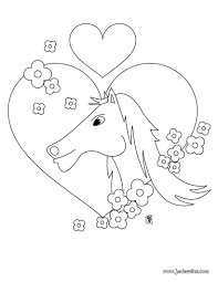 Animaux Coloriage De Coeur Coloriage De Coeur I Love You