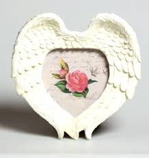 cream roman angel wings photo frame angelic new next day posting decoration ideas for wedding full