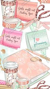Pin by Myrna Christensen on A Woman's Wish List! | Planner, Girly planner,  Cute wallpapers