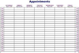 Appointment Calander Appointment Calander Barca Fontanacountryinn Com
