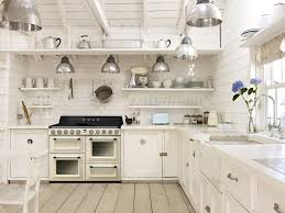 Kitchen Small Appliance Stores White Country Kitchen Filled With Smeg Small Appliances And Range