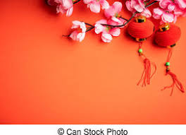 Download premium vector of chinese new year 2019 greeting background by adj about lantern, vector, zodiac, chinese and chinese illustration 555247. Chinese New Year Background Chinese Ornaments And Pink Flower Canstock