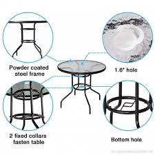 cloud mountain 32 outdoor dining table