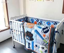 sports crib bedding set photo 1 of 7 baby sets baseball boy themed sports crib bedding