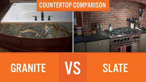 Outstanding Slate Vs Granite Countertops Cost Photo Decoration Ideas
