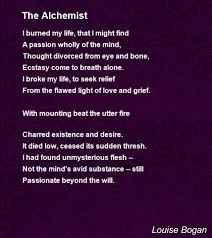 the alchemist poem by louise bogan poem hunter
