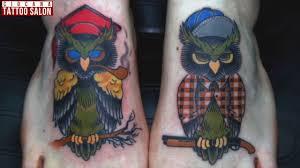 28 тату сова значение татуировки The Tattoo Salon Ciocana