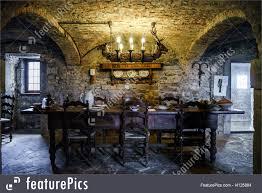 castle interior design. Old Medieval Castle Interior View. Belgium Museums. Design