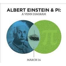 Birthday Venn Diagram Happy Pi Day Its Also Albert Einsteins Birthday What A Perfect