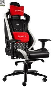 <b>Игровое кресло Noblechairs Epic</b> Real Leather (Черный / белый ...