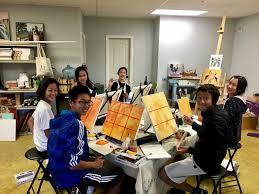 youth art class series
