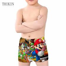 <b>Thikin</b> Brand Summer Swim Trunks For Kids Boys <b>Games Super</b> ...