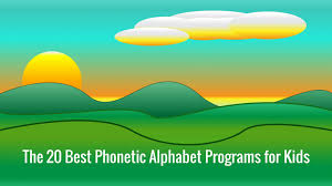 The international phonetic alphabet started out as an attempt to help navigate these murky spelling but how do we know where to spot them? The 20 Best Phonetic Alphabet Programs For Kids Early Childhood Education Zone