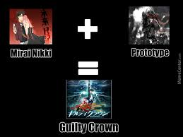 How Guilty Crown Was Made by athletx - Meme Center via Relatably.com