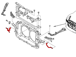 Oem radiator support bracket is found on all 2009 nissan 370z's