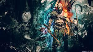 Kratos Wallpaper 4k Pc