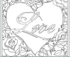 Small Picture Love colouring page Etsy