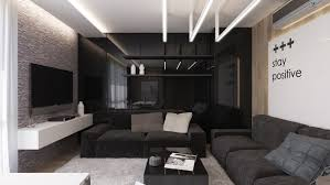 Interior Design Black And White Living Room Black Living Rooms Ideas Inspiration