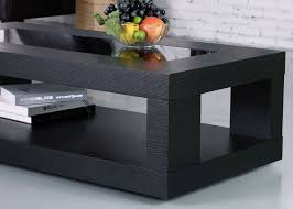 unusual small black coffee table is a functional piece of