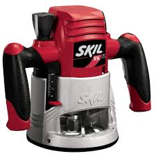 skil plunge router. skil factory reconditioned corded electric 1-3/4 horse power fixed-base router kit-1810-rt - the home depot plunge r
