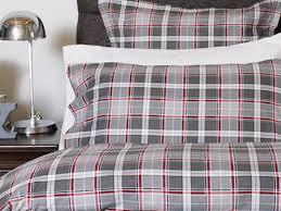 william grey flannel bedding by cuddle down