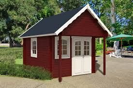 Small Picture Bunkie Prefab Log Cabin kit 150 sqft