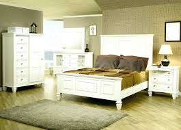 Distressed White Bed Frame Rustic White Bedroom Set White Rustic Bed ...