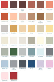 California Paint Color Chart 1940s Decorating Colors Fabrics Flooring Decor And More