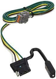 amazon com reese tekonsha 118263 4 flat tow harness wiring package reese wiring harness 85779 reese tekonsha 118263 4 flat tow harness wiring package