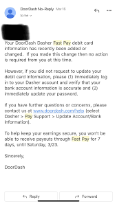 In july 2018, doordash introduced fast pay, which allows dashers to receive their earnings instantly. Does This Not Mean I Can Use Fast Pay Today Doordash