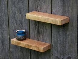 Curly Maple Floating Shelves 18 X 5.5 Contemporary Display And Maple  Shelves Wall