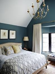 teal wall paint bedroom home design ideas pictures